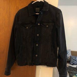 Joe's Jeans Black Denim Jacket